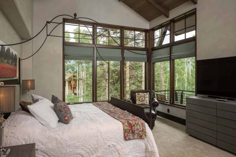 Bedrooms feature amazing view and the furniture is comfortable and modern