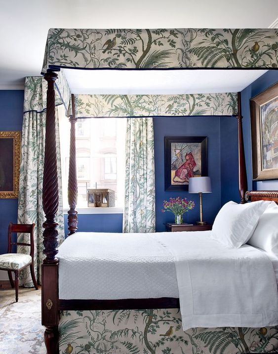 a real canopy on the bed that matches the lower part of the bed and curtains will give your bedroom really a royal feel