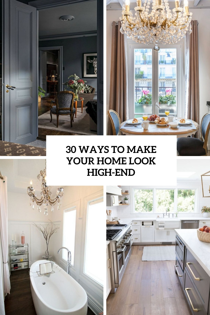 ways to make your home look high end cover