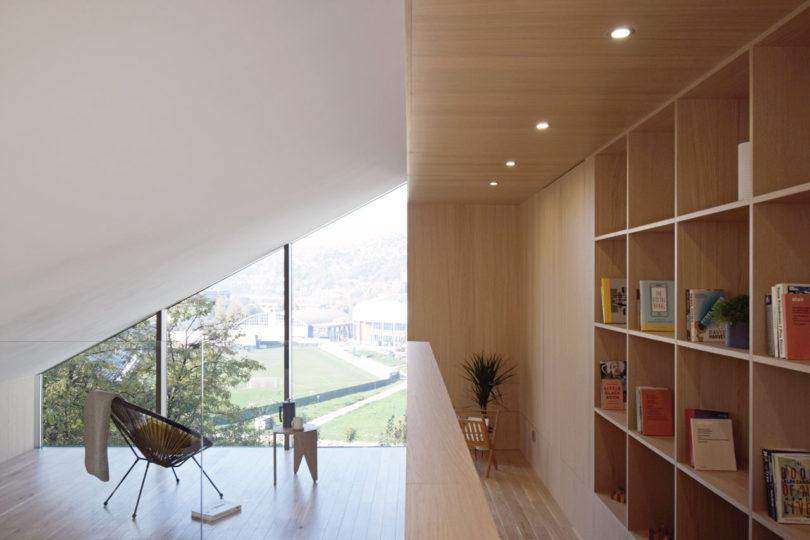 a practical attic space