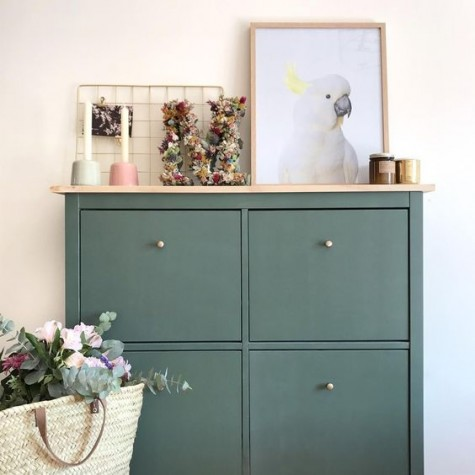 Ikea Hacks For Your Entryway