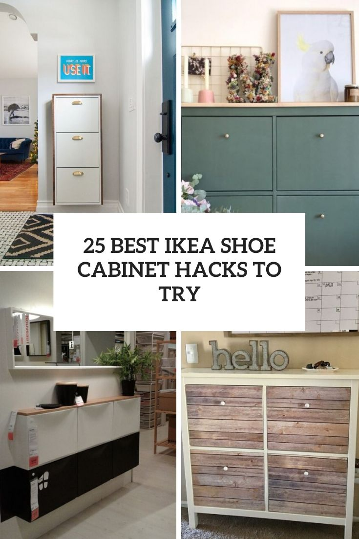 25 Best IKEA Shoe Cabinet Hacks To Try
