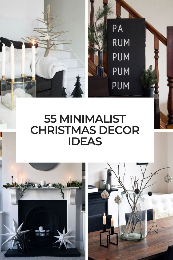 55 Minimalist Christmas Décor Ideas