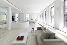 01 This spacious light-filled loft was designed with the help of the owner who even created some furniture and artworks