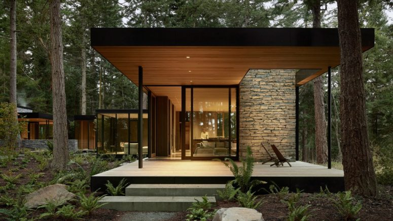 Contemporary Family Dwelling In Washington