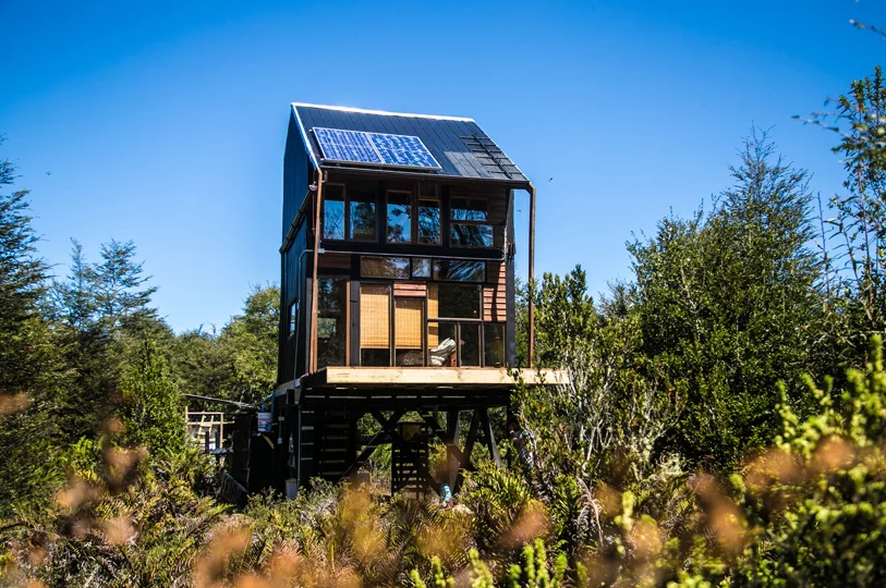 Zerocabin is a very sustainable dwelling for off grid living, which can be put anywhere you want