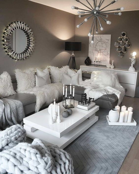 such interiors with all grey everything are totally out this year, they are boring and too predictable
