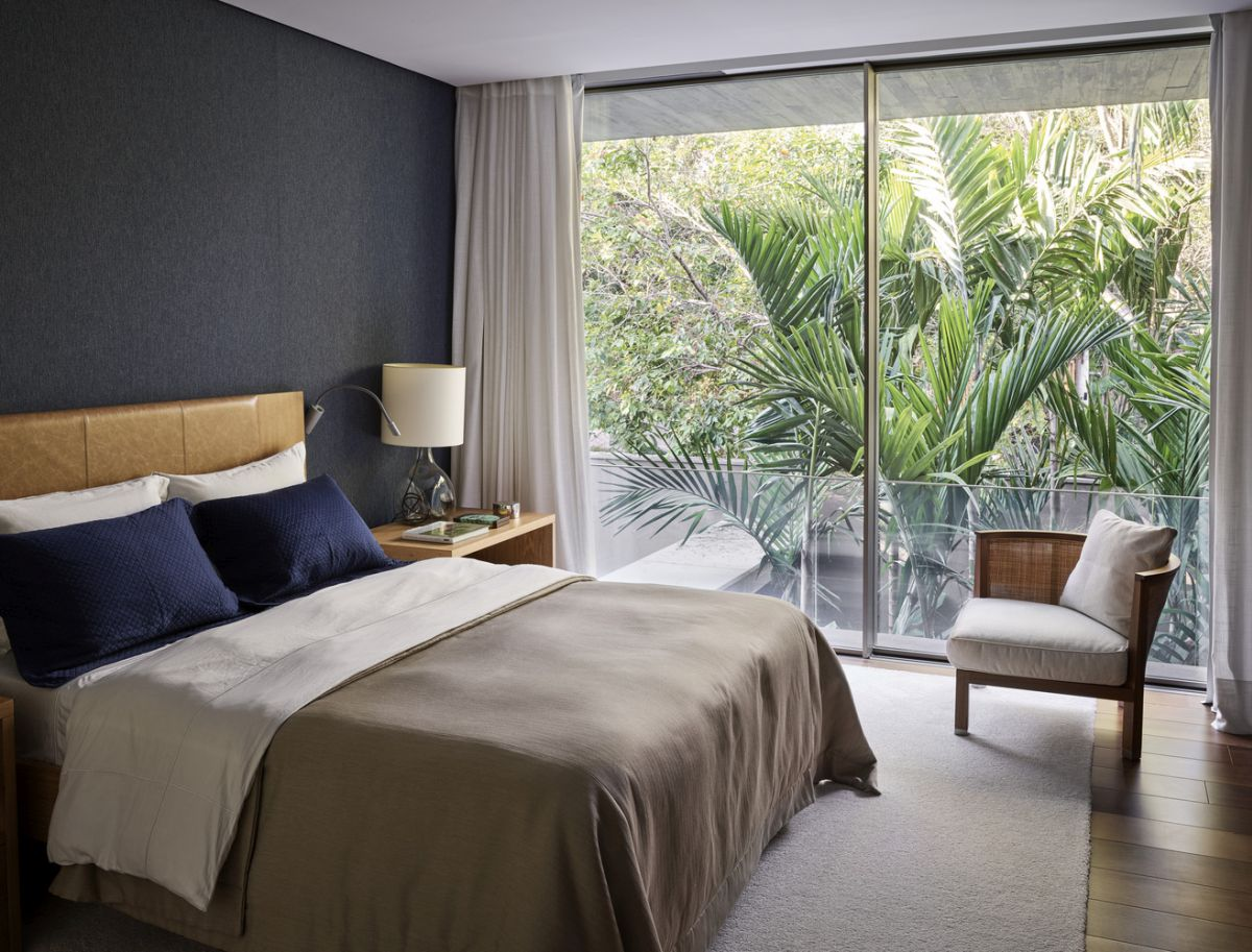The bedrooms have their own little balconies and terraces which connect them to the beautiful views