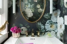11 if you love some pattern, keep the whole space in it – be bold and daring