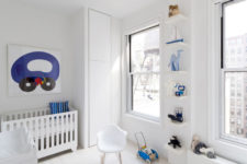 14 Another kid's room is spruced up with blue touches