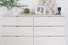 23 an IKEA Tarva dresser is made amazing with wooden dowels and some white paint