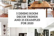 5 dining room decor trends and 25 examples for 2020 cover