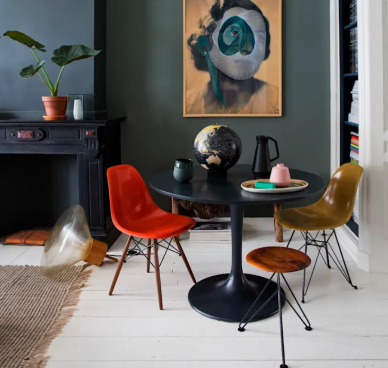 Eclectic Hague Townhouse With Quirky Art Pieces