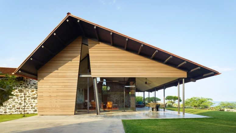 Modern Home Inspired By Traditional Hawaiian Shelters