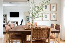 11 just a single striped rug is a cool idea for a West Coast space, it will add a quirky touch