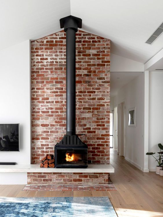 25 Home Wood Burning Stove Ideas Digsdigs