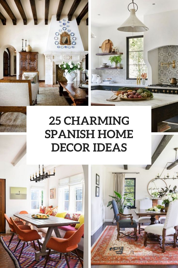 charming spanish home decor ideas cover