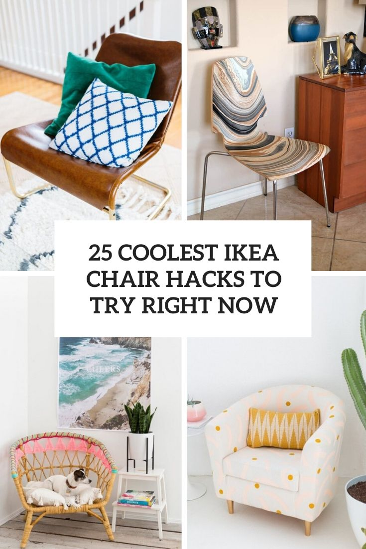 25 Coolest IKEA Chair Hacks To Try Right Now