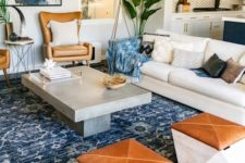an eclectic room design in Californian style