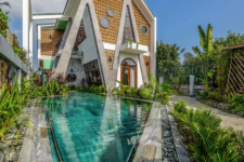 01 This unqiue villa is a fresh take on traditional homes, with natural and cultural context integrated into its design
