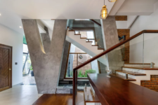 lots of concrete used in home decor