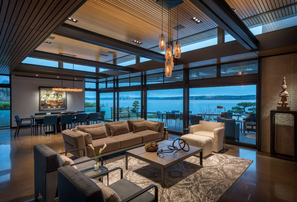 The spaces are open to the outdoors and feature amazign natural views
