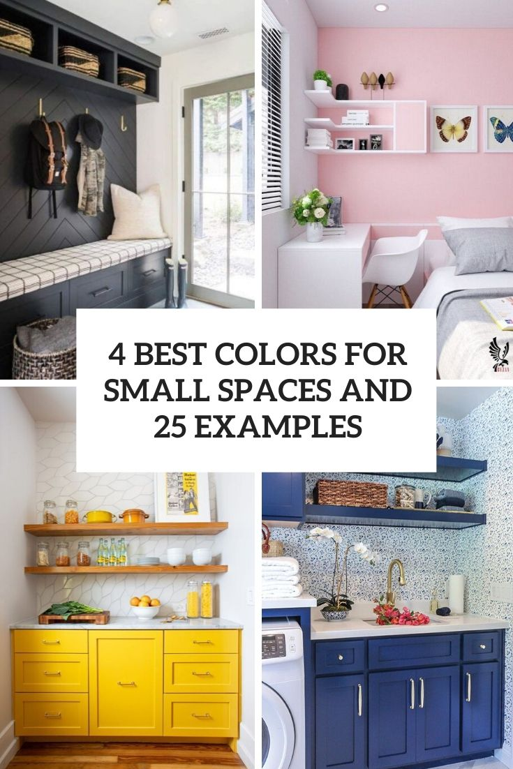 4 best colors for small spaces and 25 examples cover
