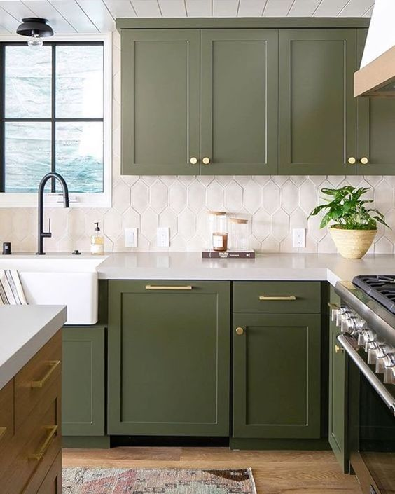 25 Green And White Kitchen Decor Ideas