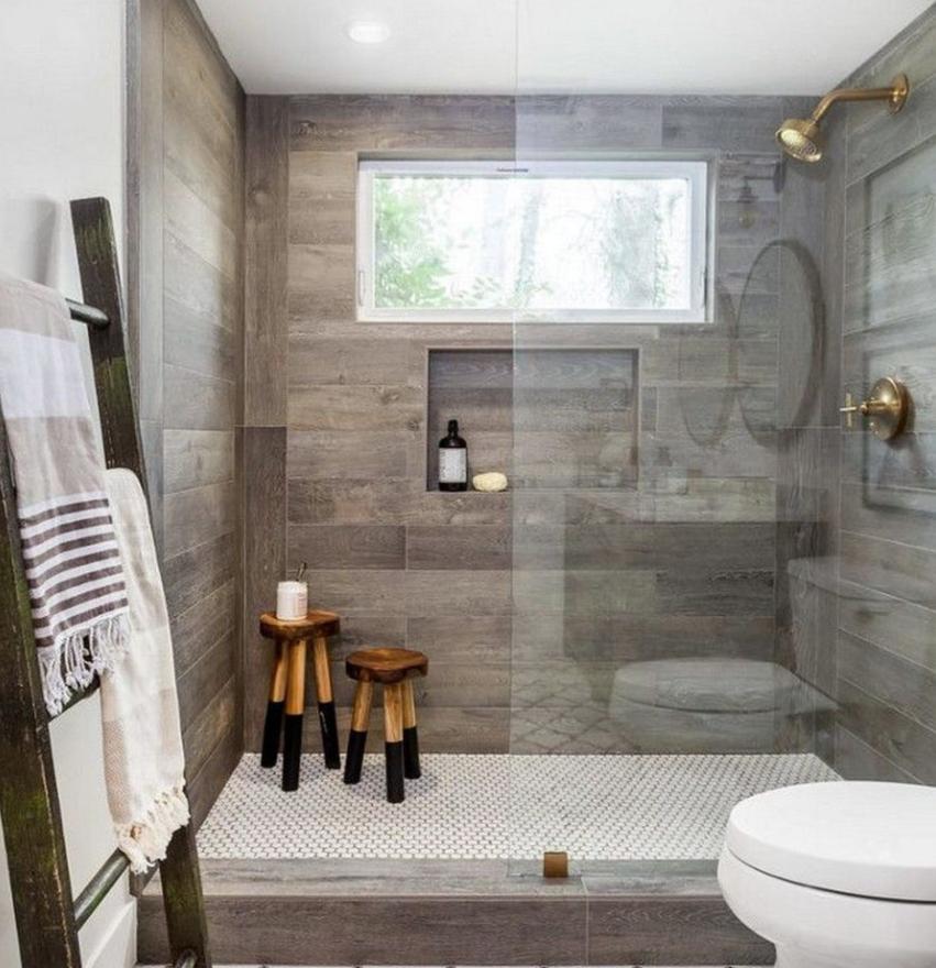 Wood Look Tile Ideas For Bathrooms