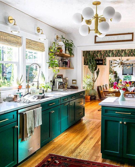 25 Green And White Kitchen Decor Ideas Digsdigs