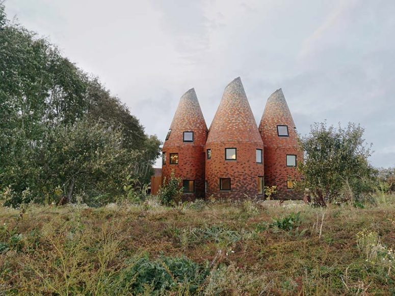 Contemporary Unique Oast House In England