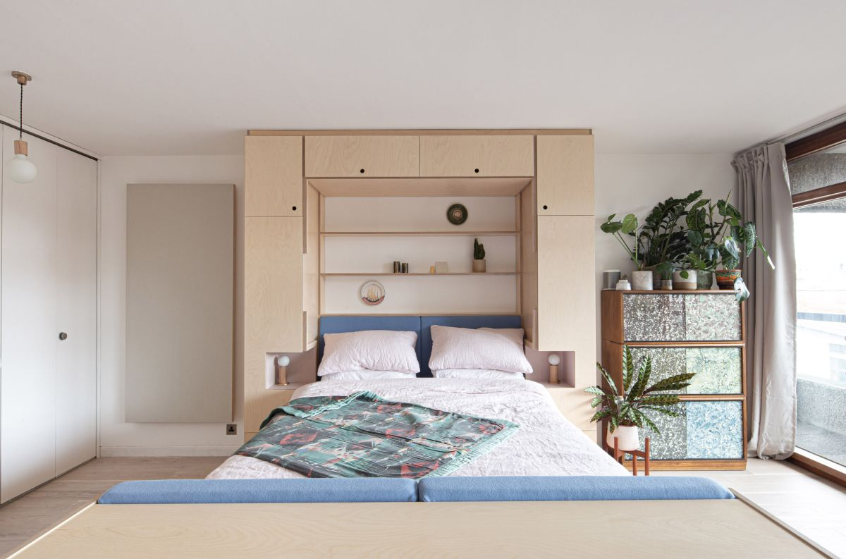 murphy bed is the best space saving solution for a bedroom
