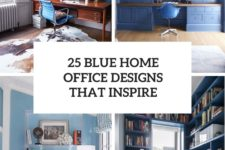 25 blue home office designs that inspire cover
