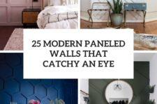 25 modern paneled walls that catch an eye cover
