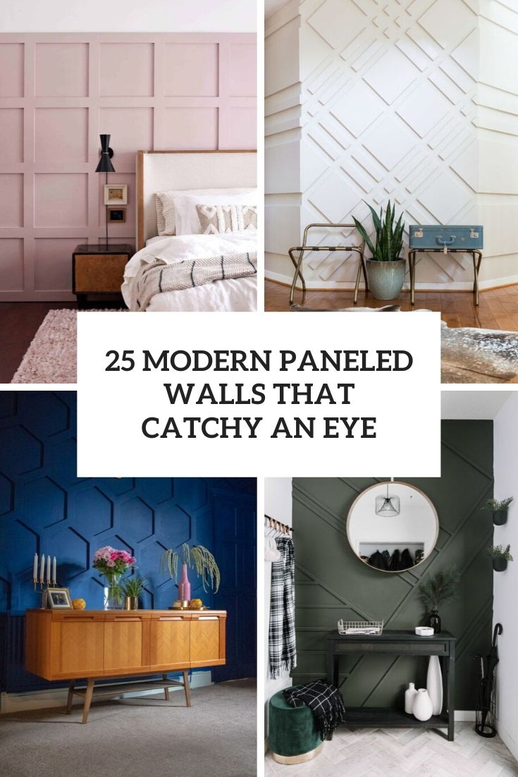 modern paneled walls that catch an eye cover