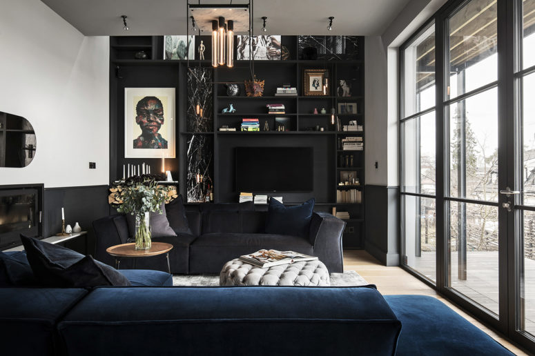 This chic industrial home is a chic urban loft in Stockholm, it's designed with impeccable taste and looks wow at each angle