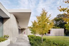 01 This house is called Preston Hollow and is inspired by brutalist architecture and 50s and 60s Texas homes