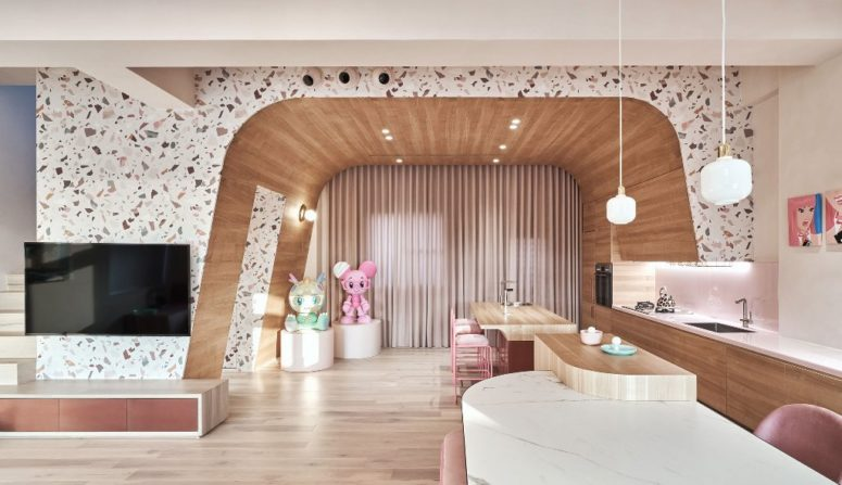 Candy-Colored Holiday Home For Humans And Felines Alike