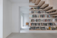 negative space is an important part of this home