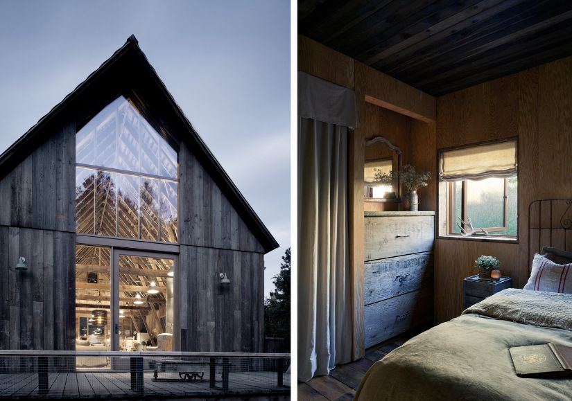 The house retianed its coziness and a slight vintage feel thanks to the use of materials and the style chosen for innner decor