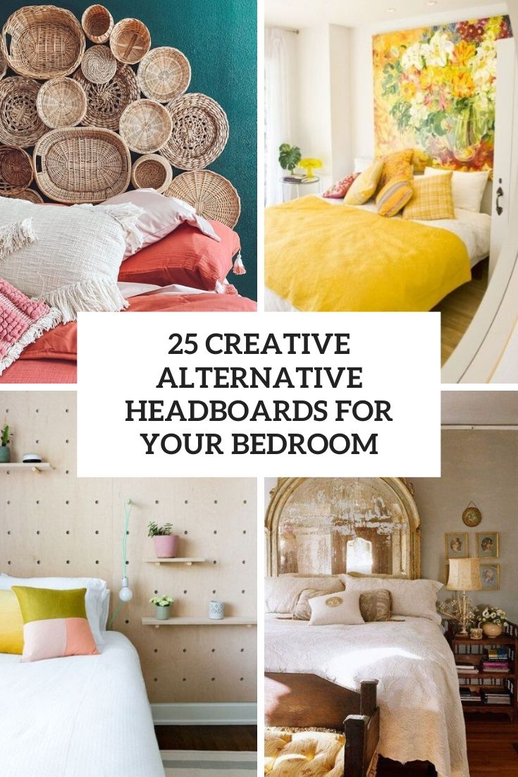 creative alternative headboards for your bedroom cover
