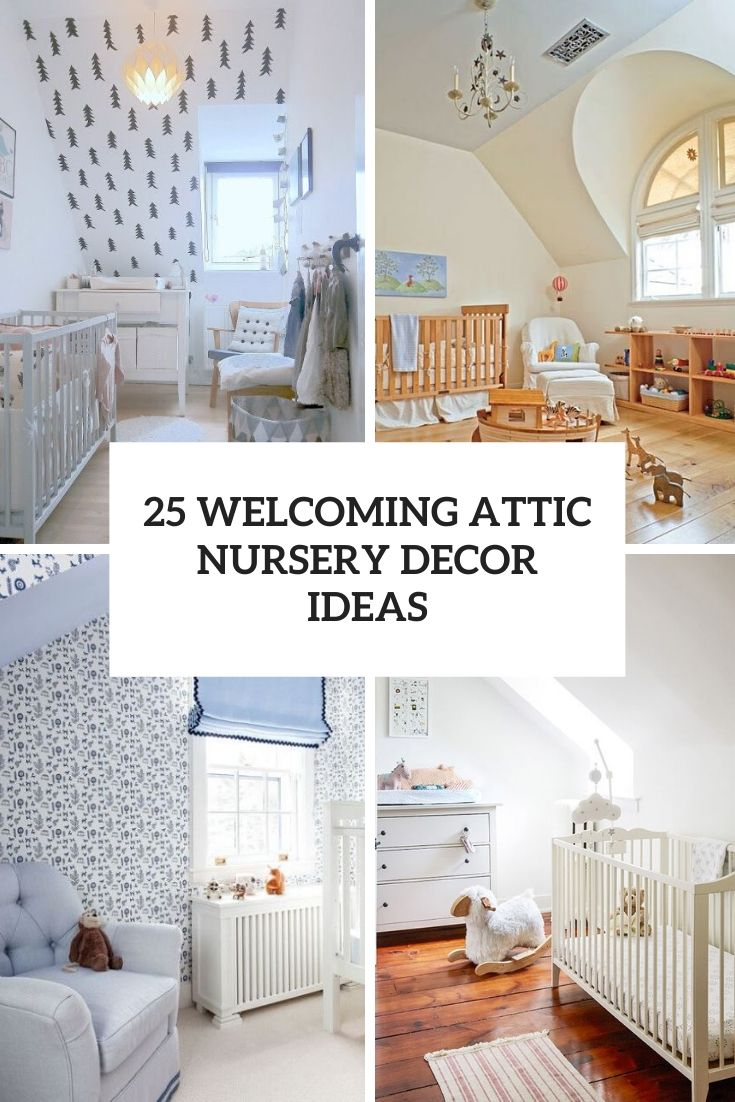 welcoming attic nursery decor ideas cover