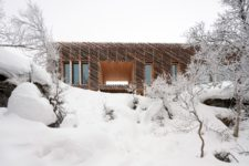 03 The cabin is very well insulated to withstand harsh weather conditions that are usual for Norway