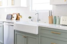 07 gold hardware is a timeless idea for every kitchen that always works