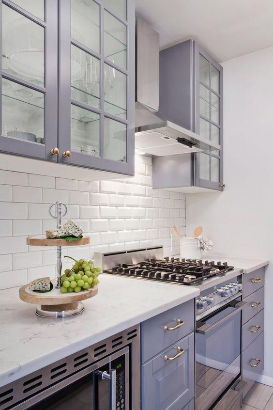 25 Stunning Purple Kitchen Decor Ideas Digsdigs