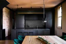 01 This super stylish home has an industrial past, which was preserved and used in its current decor