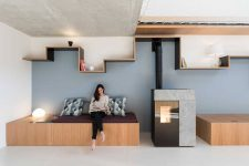 01 This French home is very creative, it was reimagined for a family and made very practical and functional