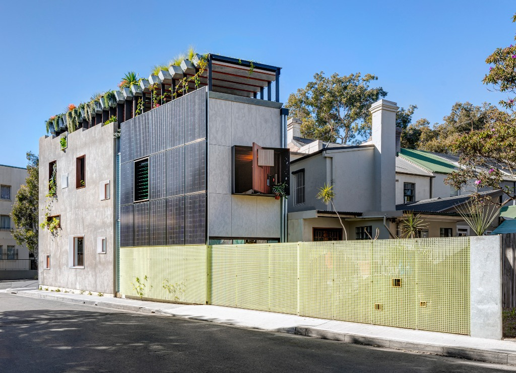 Welcome To The Jungle House is a unique dwelling that is all about sustainability
