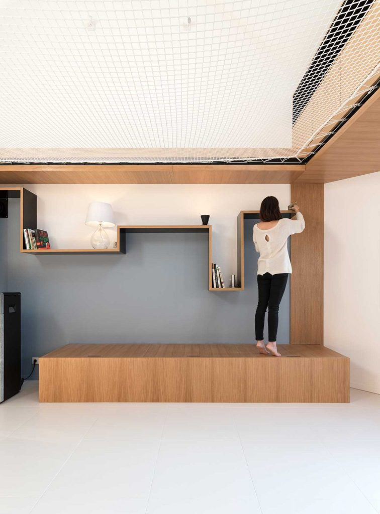 The furniture is simple, yet catchy and functional   every piece here has its own meaning and aim