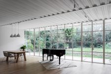 03 The spaces are open and filled with natural light and the decor is rather minimal